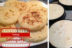 Crumpets et thé: un goûter anglais réconfortant par ce mauvais temps!