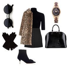 """""""Leopard look ❤️"""" by naomifarcas ❤ liked on Polyvore featuring Theory, Chloé, Rochas, Alice + Olivia, Picard & Cie, Louis Vuitton, AGNELLE and 119"""
