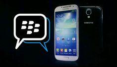 BlackBerry Messenger untuk Android di Samsung Galaxy
