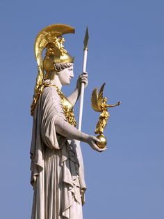 Nike, diosa griega de la victoria.