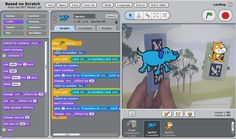 AR SPOT: An Augmented-Reality Programming Environment for Children