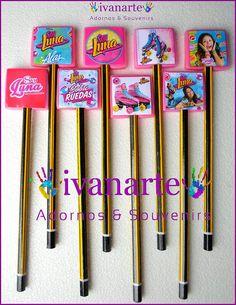 Soy Luna Lapices Souvenirs Para Regalo Fiesta /floresta , $ 15,00 en MercadoLibre
