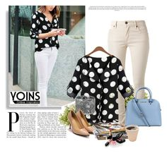 """""""Yoins-21"""" by dzena-05 ❤ liked on Polyvore featuring Burberry, Michael Kors, Nearly Natural and Chanel"""