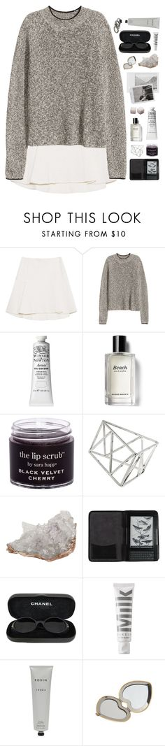"""Sure as the wind keeps blowing"" by nandim ❤ liked on Polyvore featuring Polaroid, Bobbi Brown Cosmetics, Topshop, Anna New York, Cole Haan, Chanel, MILK MAKEUP, Rodin and Aerie"