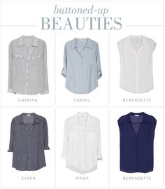 A Wardrobe Must-Have: A Buttoned Up Beauty Collared Shirt