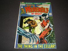Marvel Spotlight 3, (1973), Werewolf by Night, Marvel Comics by HeroesRealm on Etsy