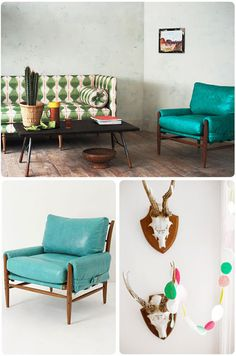Live, Give, Love: Rhys Chair and Ottoman