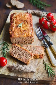 Chec de carne in stil italian Edith's Kitchen, Mince Meat, Banana Bread, Food Photography, French Toast, Cheesecake, Low Carb, Healthy Recipes, Food And Drink