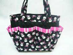 LAST ONE Skull print small bingo bag / great by sewtrendyrose Bingo Bag, Skull Print, Family Business, Business Ideas, Diaper Bag, Purses, Trending Outfits, My Style, Unique Jewelry