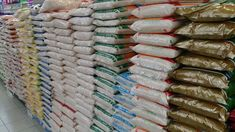 Customs officials in Nigeria have confiscated 2.5 tons of plastic rice smuggled into the country by people hoping to take advantage of skyrocketing food prices.