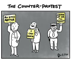 """""""All Lives Matter"""" and other signs that diminish a movement"""