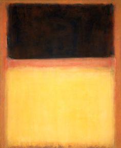 Mark Rothko, No. 9 (dark over light), 1954, Oil on canvas