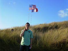 Utah Beach in Normandy, France