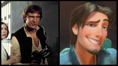 Han Solo and 'Tangled's' Flynn Rider