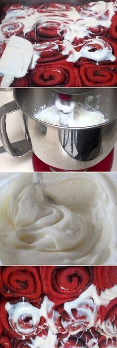 Cómo hacer el mejor glaseado azucarado de queso crema. #glaseado #rellenos #azucarado #queso #quesocrema #comohacer #cakes #pan #panfrances #pantone #panes #pantone #pan #receta #recipe #casero #torta #tartas #pastel #nestlecocina #bizcocho #bizcochuelo #tasty #cocina #chocolate Si te gusta dinos HOLA y dale a Me Gusta MIREN … Good Healthy Recipes, Sweet Recipes, Frosting, Icing, Food Club, Bread Rolls, Sweet Bread, Deli, Fondant