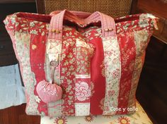 Tutoriales de Patchwork: BOLSA DE LABORES