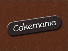 Logo for a Cake Shop. Yummy! Looks like a chocolate bar, isn't it?
