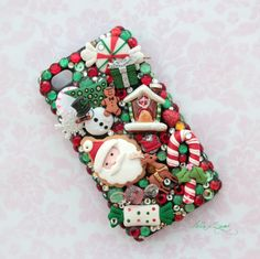Santa Clause is Coming  Decoden Iphone 4/4S Case  by HELLOxSUGAR, $35.00