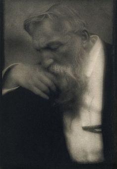 Auguste Rodin, by Edward Steichen 1911