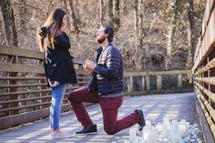 Clay + Ashlyn Proposal (with Regalo on Greenway, Nashville) Photos by Amelia J. Moore