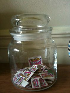 Reuse empty Yankee Candle jars