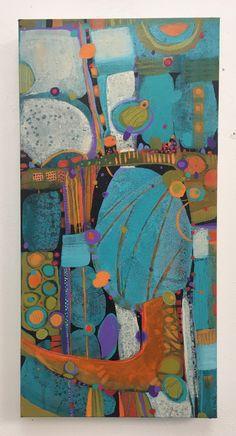 Acrylic painting 10x20 by Sue Davis