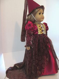 American Girl Doll Clothes,  Princess Costume