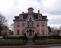Mansion in New Bedford, Take a tour of the beautiful architecture in the West End of New Bedford! Unfortunately most homes are private, but you can still admire them from the street!