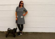 This is my sixth Coco dress, so I'll keep it brief! The polka dot ponte is from Stone Fabrics. It's fairly coarse in texture, I don't think it's my favourite ponte ever, but I'll still wear this dr...