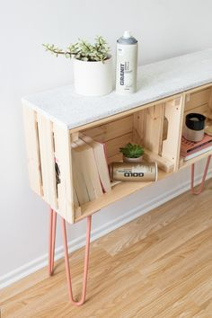 Wooden Box Sideboard  – Personal furniture that works Furniture, Sideboard, Wooden, Table Legs, Pine Wood, Wooden Diy, Wooden Planks, Functional Furniture, Wooden Boxes