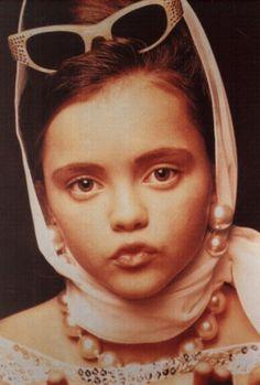 A young Christina Ricci rockin' girl's world