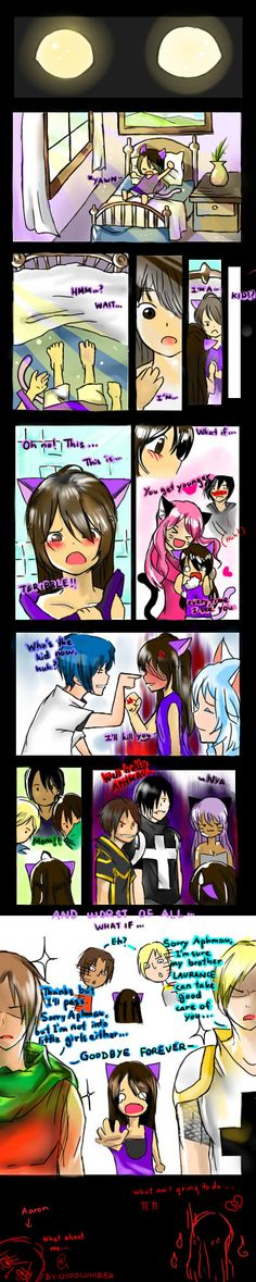 I love this comic, I'm actually gonna make a fanfic out of this! Who ever made this awesome job!
