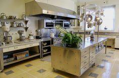 Hillwood Estate kitchen
