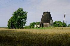 Die Reste der Mühle in Wollin am Friedhof (auf der Karte http://mapa.targeo.pl/Wolin-mlyn-holenderski,miejsce_5927522 eingezeichnet) Die Mühle am Friedhof