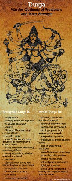 Durga, Warrior Goddess of Protection and Inner Strength