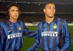 Andrea Pirlo & Ronaldo #InterdeMilán