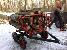 Alles rund um die Motorsäge: www.motorsaegen-portal.de • Wald-/Forstarbeit mit dem ATV