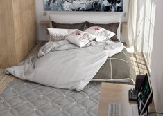 Making-a-modern-bedroom-using-vray-for-sketchup-#1.final render