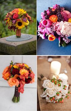 Inspiration for Fall Bouquets | WeddingWire: The Blog