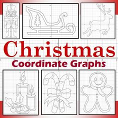 Christmas Coordinate Graphing Activities