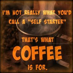 CoffeeLovers - Our self starter. #coffee