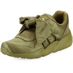 0104cbb3356 Fenty Puma By Rihanna Trinomic Knotted Bow Satin Sneaker (5