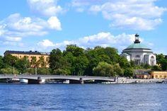 Skeppsholmsbron, Summer 2016, Skeppsholmen, Stockholm, Sverige.