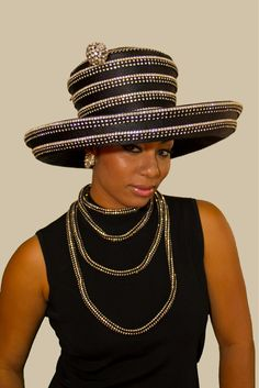 Another beauty from the Black Diamond Collection Shellie McDowell Hats