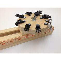 Paracordist Creations LLC - Quick-Buckle Paracord Survival Bracelet Jig, $52.95 (http://www.paracordist.com/quick-buckle-paracord-survival-bracelet-jig/)