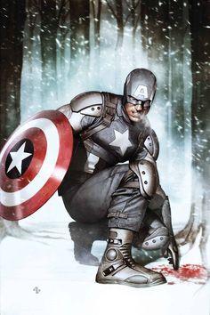 Cool Captain America pics