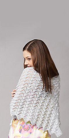 Ravelry: Chevron Lace Shawl pattern by Patons