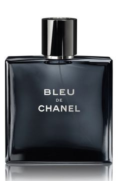 CHANEL BLEU DE CHANEL EAU DE TOILETTE SPRAY available at #Nordstrom - Pink peppercorn, Citrus, Peppermint, Nutmeg, Vetiver, Grapefruit, Cedar, Labdanum, Jasmine, Incense, Patchouli, Ginger, Sandalwood