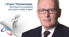 Frans Timmermans, why should municipalities and regions matter to you? bit.ly/1f9Re7x