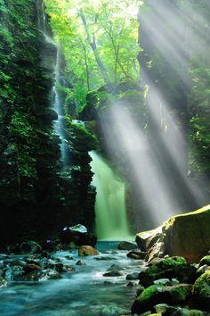 Yuhi Falls, Tochigi, Japan